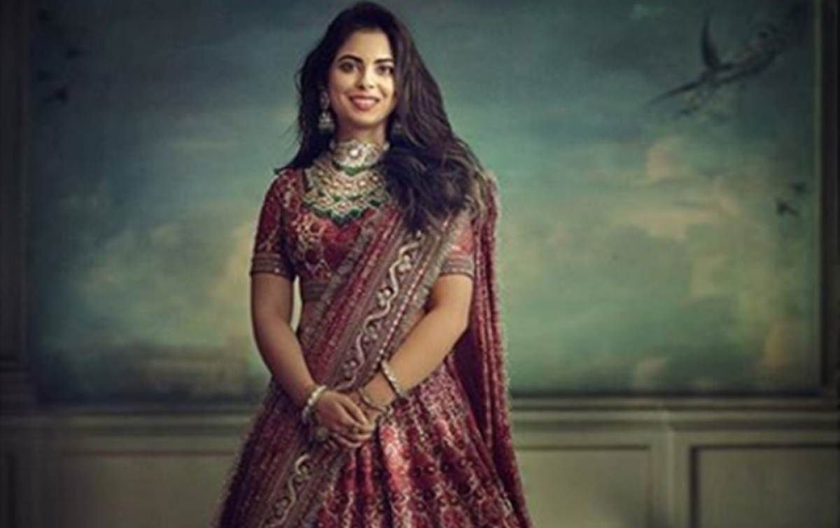 Isha Ambani's exclusive wedding pictures will be revealed on this Instagram account