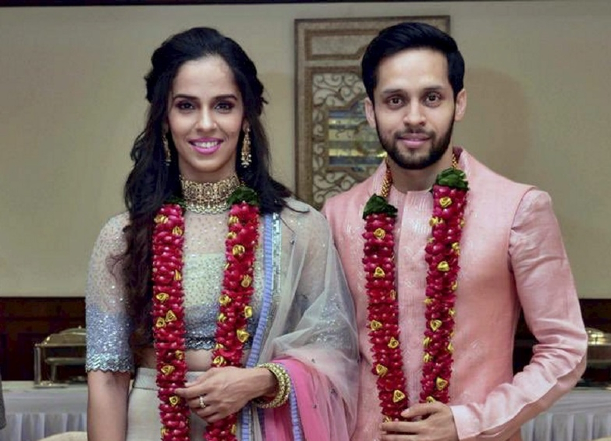 Saina Nehwal And Parupalli Kashyap Tie The Knot! Wedding And Reception Pictures You Cannot Miss