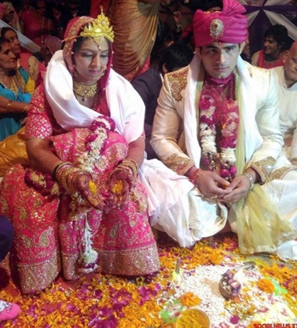 Clean Bowled! Before Saina-Kashyap, 10 Sports Stars Who Married Sportspersons
