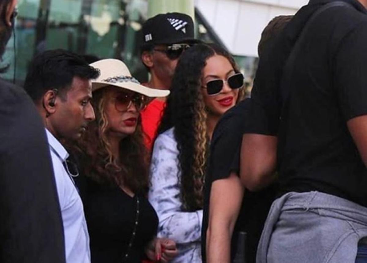 Beyonce arrives in Udaipur for Isha Ambani and Anand Piramal's pre-wedding celebrations