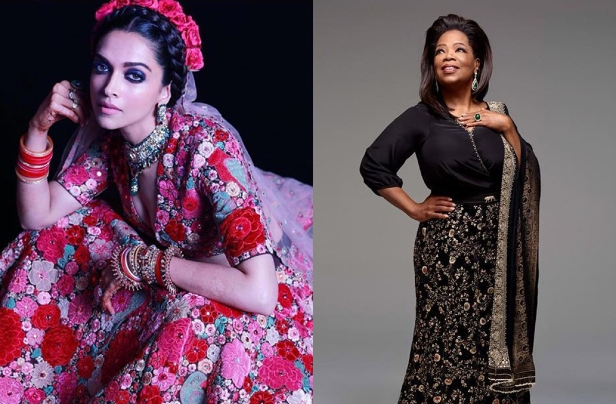 The year of Sabyasachi: Deepika to Oprah, 10 stunning ensembles of 2018 by the ace designer