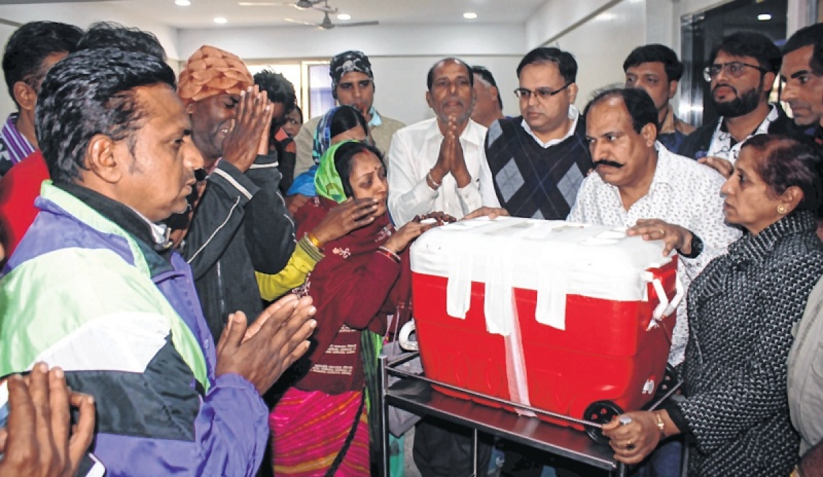 Indore: In death, woman 'Gifts Life' to many