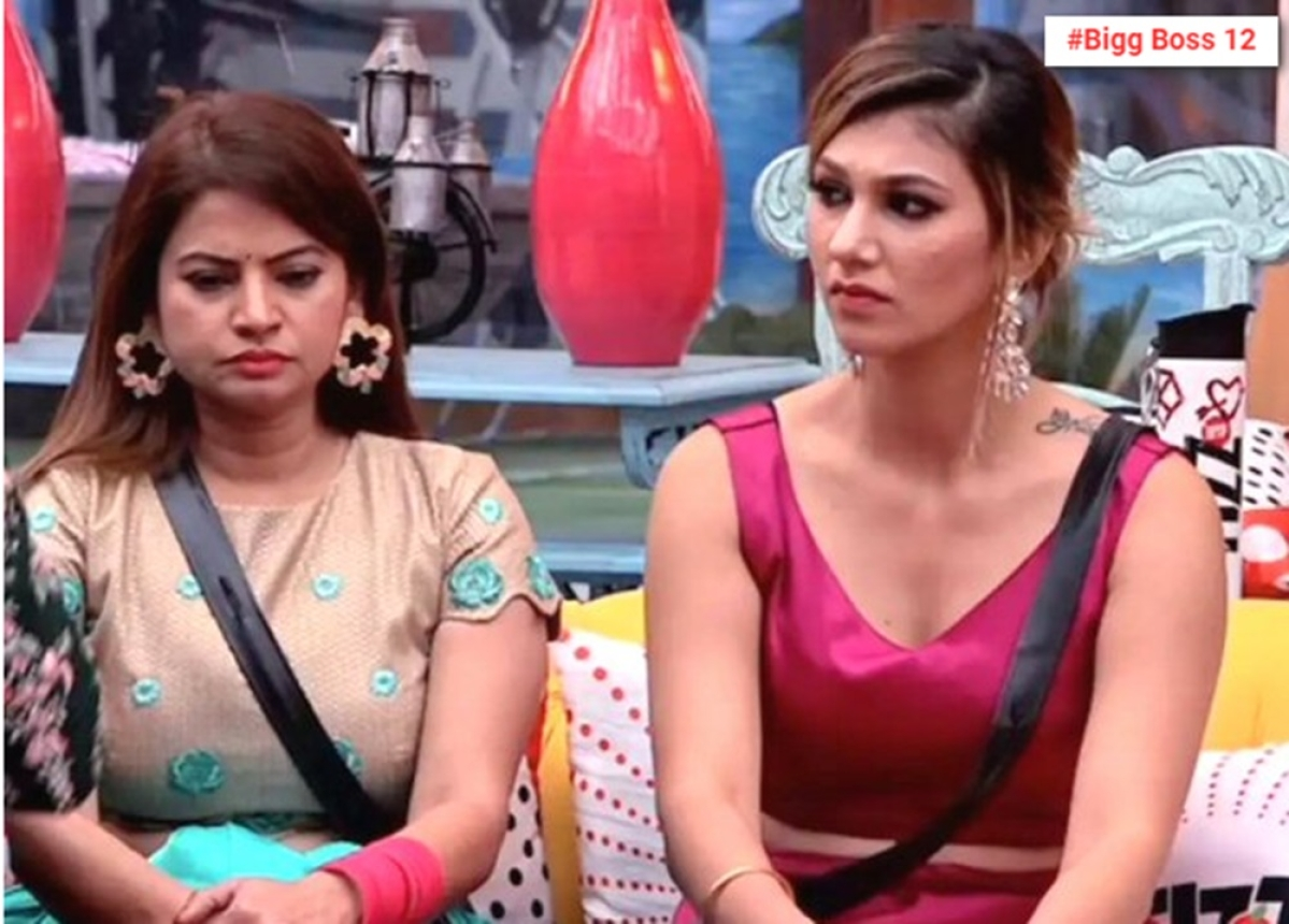 Bigg Boss 12 Update: Jasleen Matharu and Megha Dhade ELIMINATED from the show