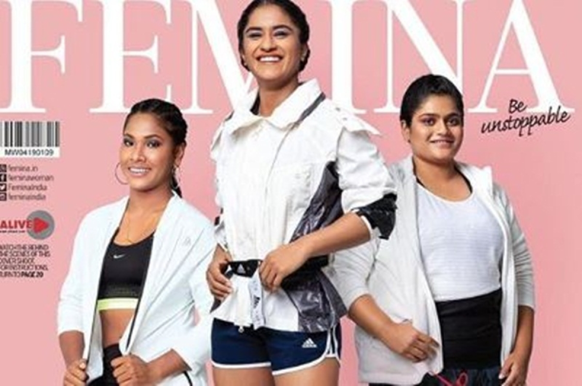 Sport-stars shine! Asian Games 2018 medallists grace fashion magazine's cover page