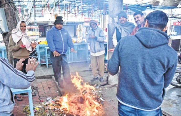 Bhopal: Temperature falls in state, Nowgaon battles it at 3.4 Celsius
