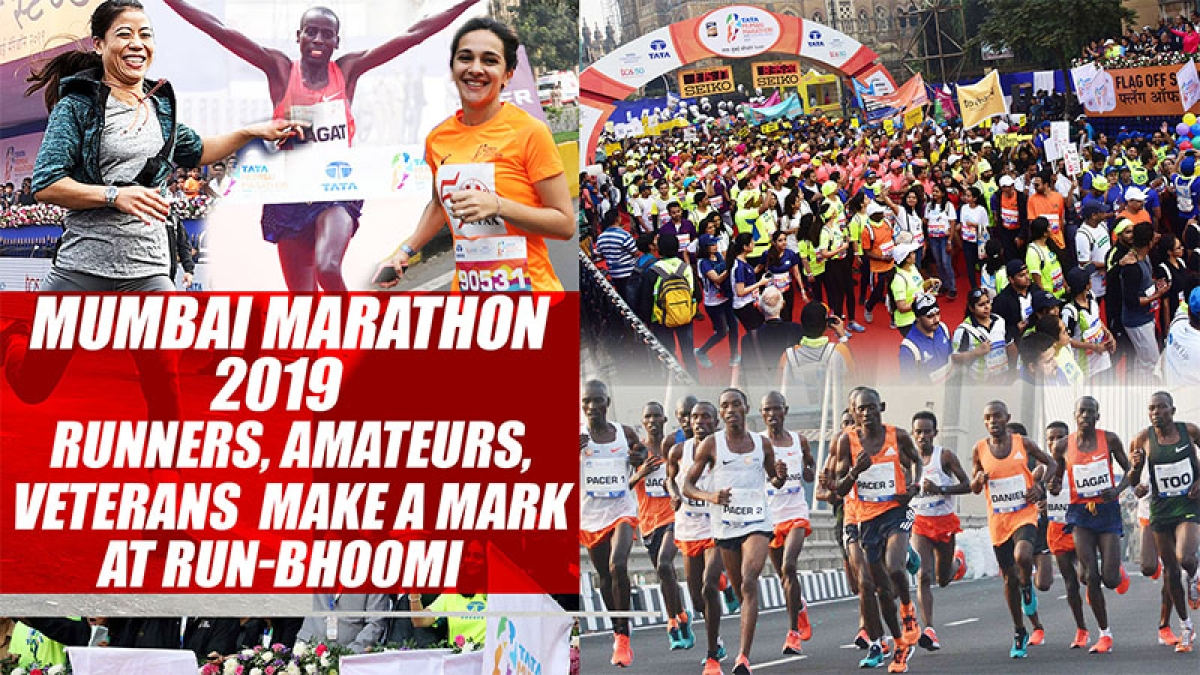 Mumbai Marathon 2019: Runners, Amateurs, Veterans Make A Mark At Run-bhoomi