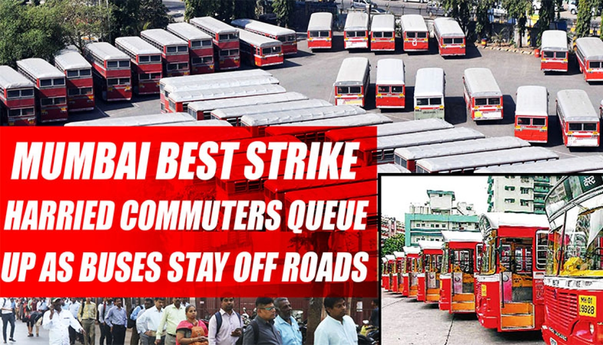 Day 6 of strike: BEST now passes buck to commuters