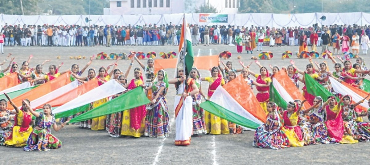 Ujjain: 70th Republic Day, Tricolours envelop city