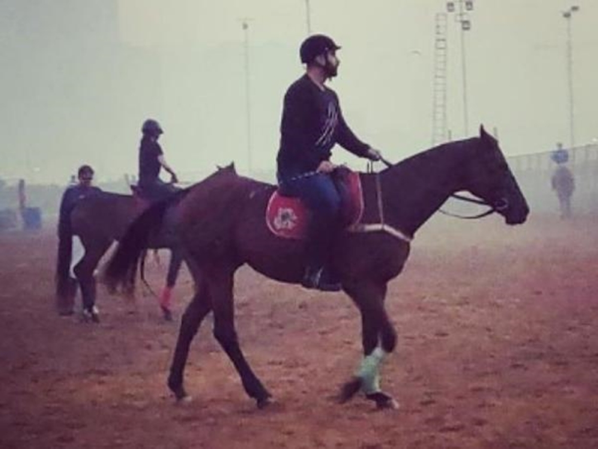 WATCH: Arjun Kapoor begins training for 'Panipat' with horse riding lessons