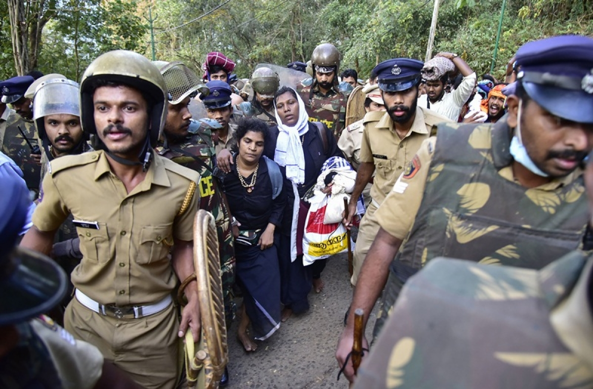 After Ayyappa darshan, Kanakadurga forced to take refuge at One Stop centre after finding house locked