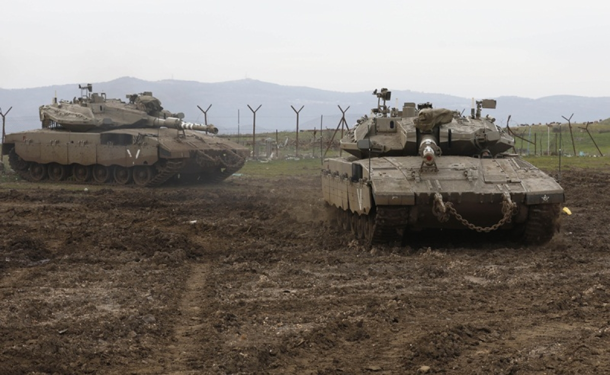 Israel says carrying out strikes on Iranian targets in Syria