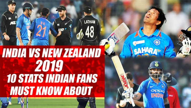 India vs New Zealand 2019 | 10 Stats Indian Fans Must Know About