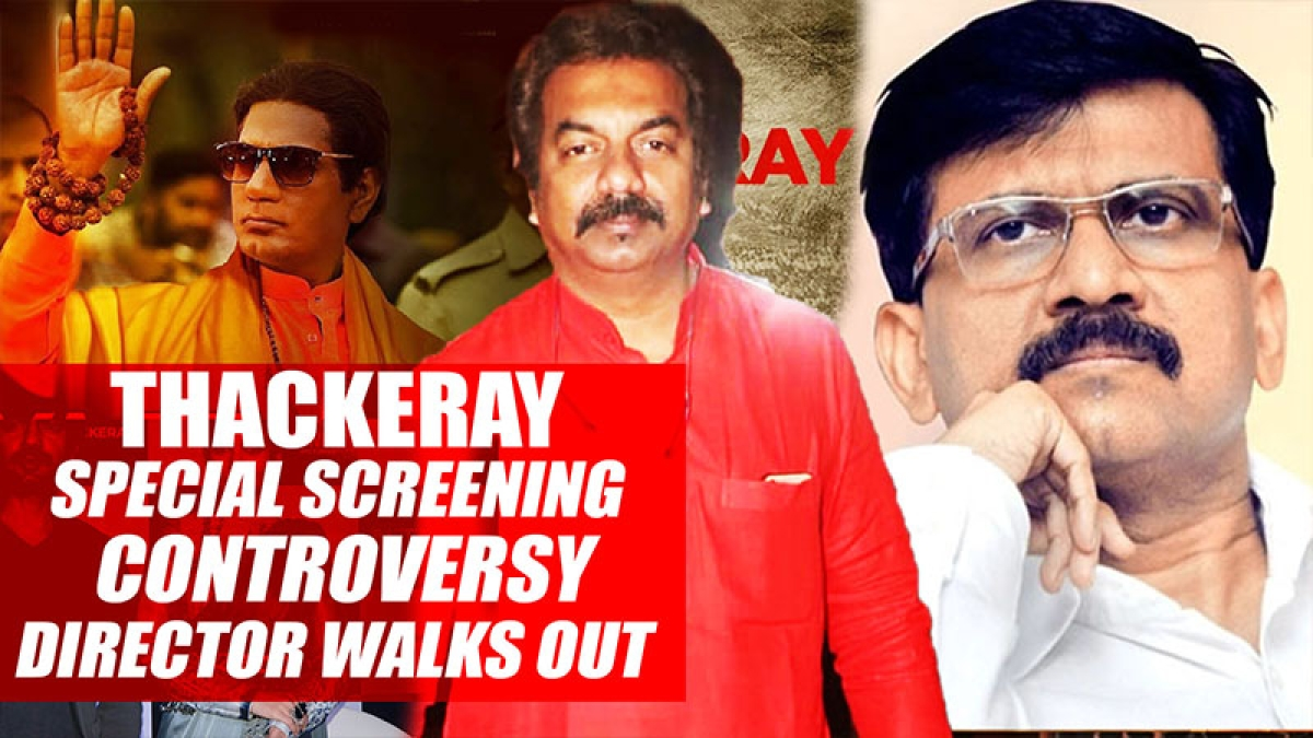 Thackeray special screening controversy Director Abhijeet Panse walks out