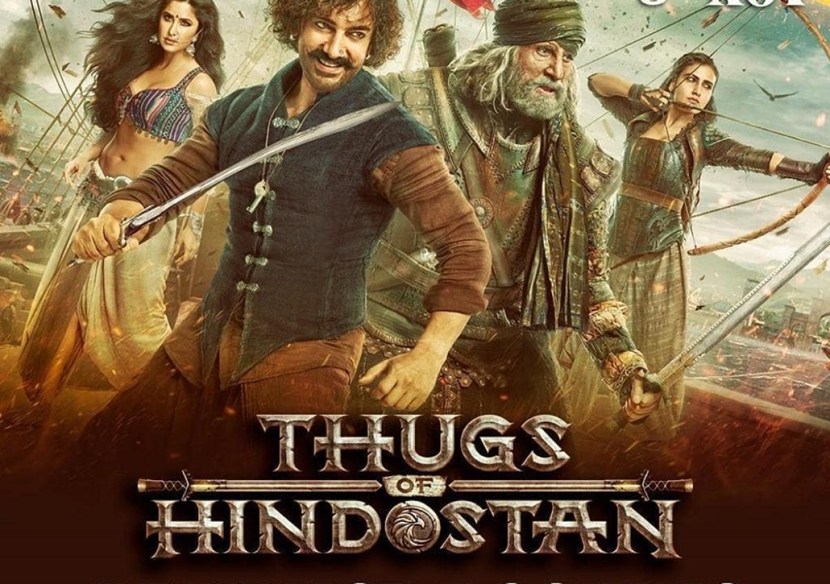 Aamir Khan's 'Thugs of Hindostan' tanks at China Box office