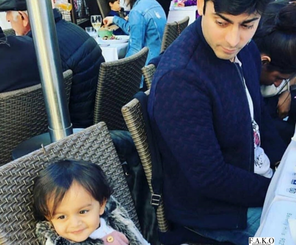 Is this Fawad Khan's daughter? Check it out