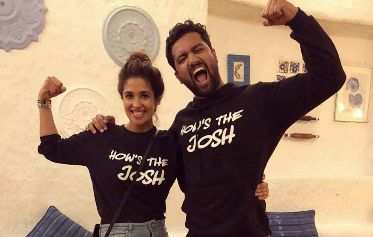 In Picture: Vicky Kaushal celebrates 'URI' success with rumored GF Harleen Sethi