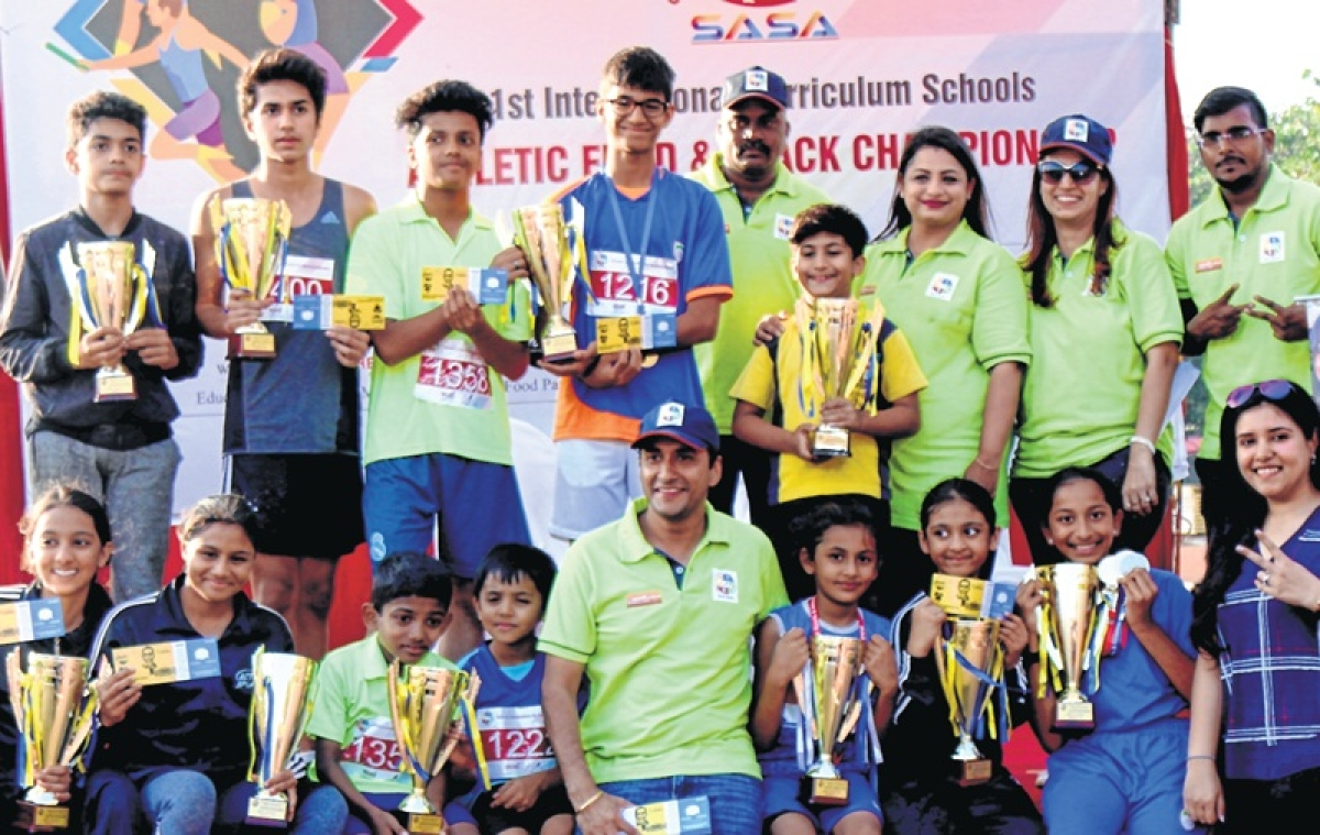 SASA Track and Field Championships:  Arav,  Tanishka Krishnan adjudged best athletes