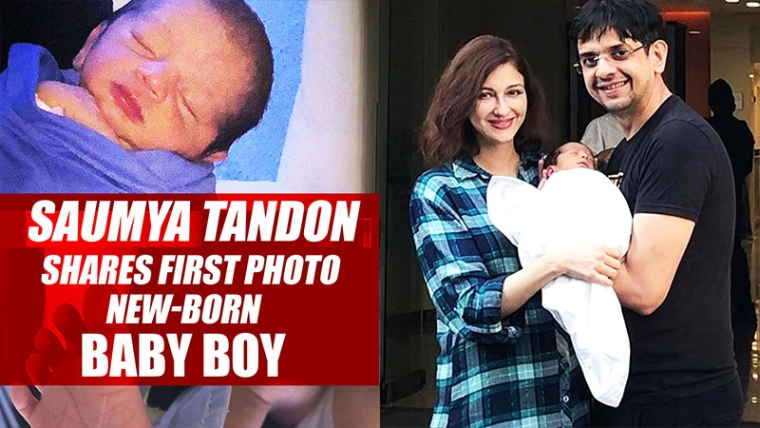 Actress Saumya Tandon Shares First Photo Of New-Born Baby Boy