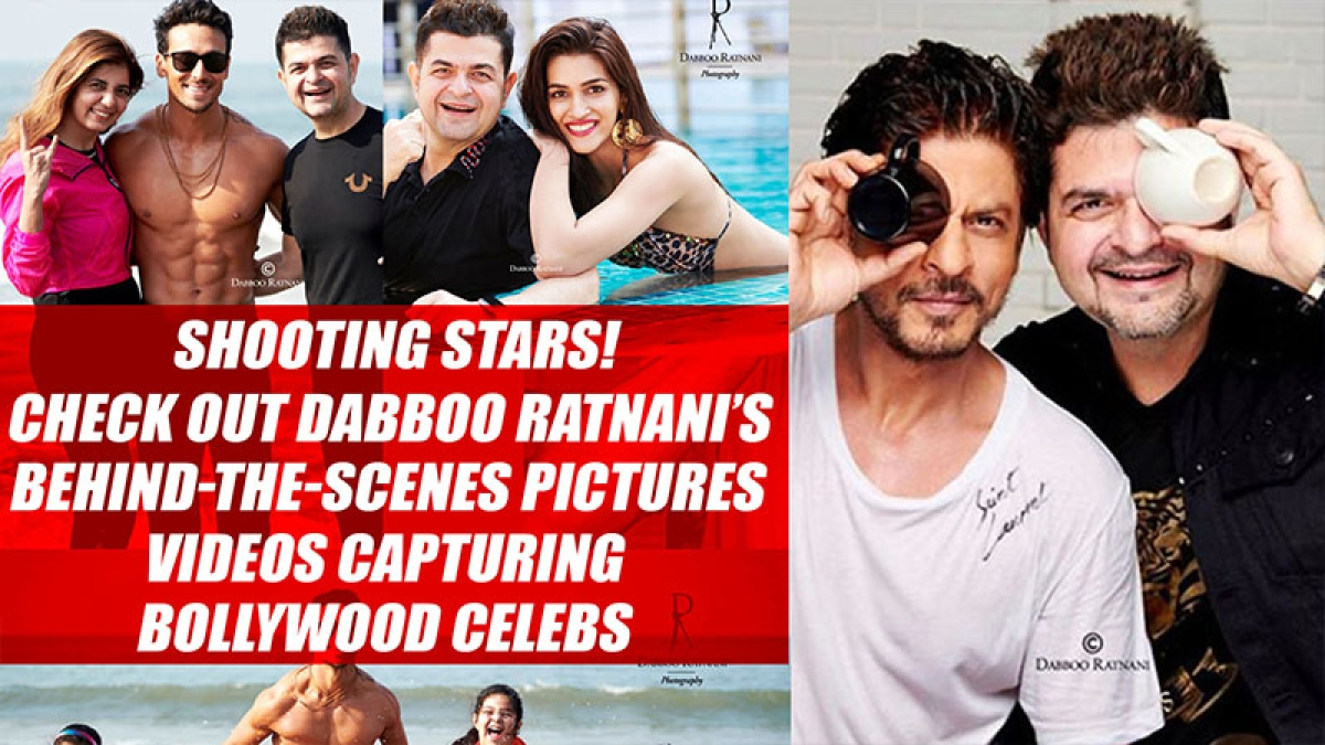 Shooting Stars! Check out Dabboo Ratnani's behind-the-scenes picturescapturing Bollywood celebs