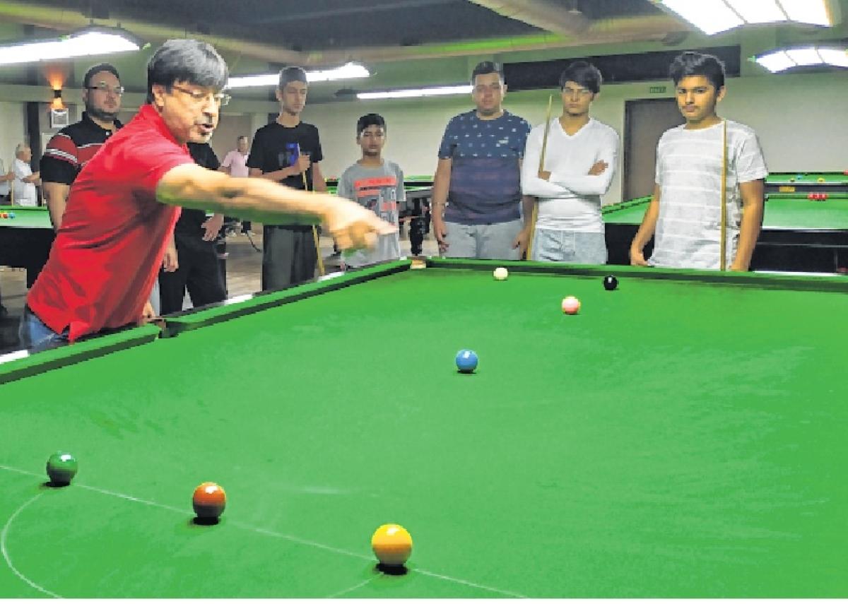 Green baize sport gets boost