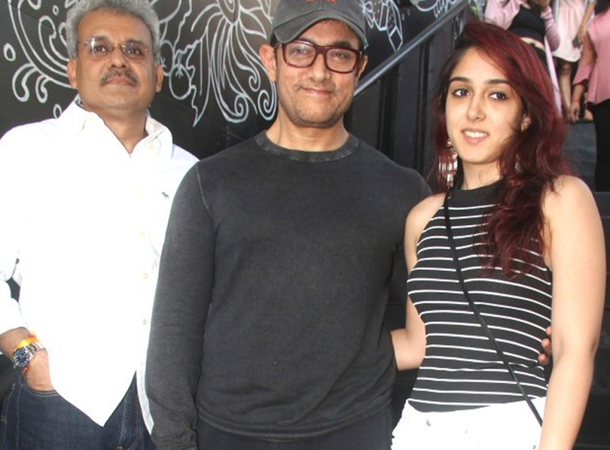 In Pic: Aamir Khan takes daughter Ira Khan for brunch