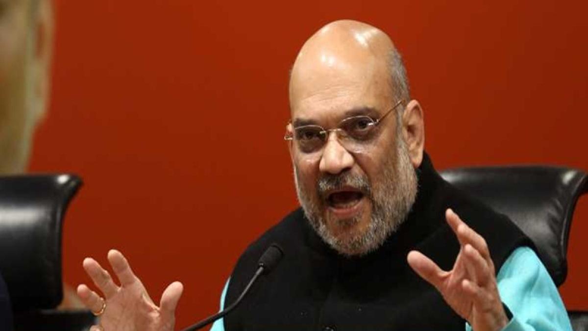 Bhopal: Law & order means 'Lo Aur Order Karo' in Nath govt, says Shah