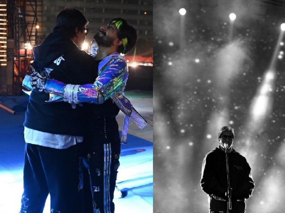 Unseen pic of Amitabh Bachchan, Ranveer Singh at the rehearsals of Umang 2019 will leave you gushing!