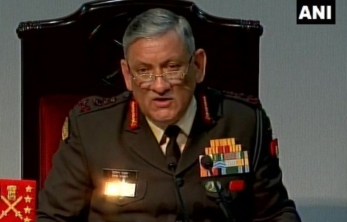 Army chief General Bipin Rawat asks troops to be prepared for 'all eventualities'