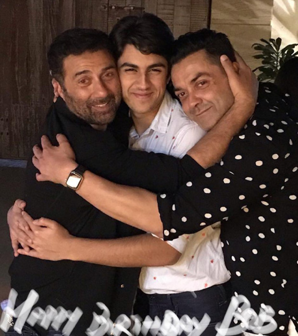 Inside Pics: Bobby Deol celebrates 50th birthday bash with Sunny Deol, Ajay Devgn and others