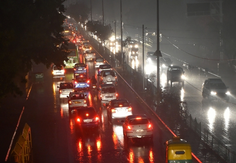 Delhi: Heavy rain, thunderstorm lashes national capital; air quality improves to 'moderate'