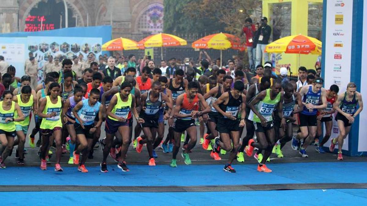 Mumbai Marathon 2019 full route map