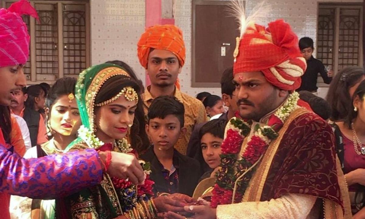 Patidar leader Hardik Patel ties the knot with childhood friend in Gujarat