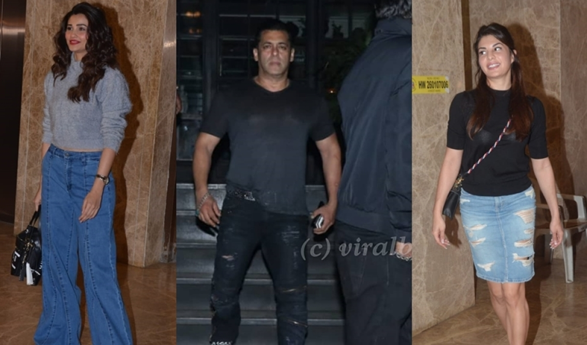 In Pics: Salman Khan, Jacqueline Fernandez and others attend Ramesh Taurani's birthday bash