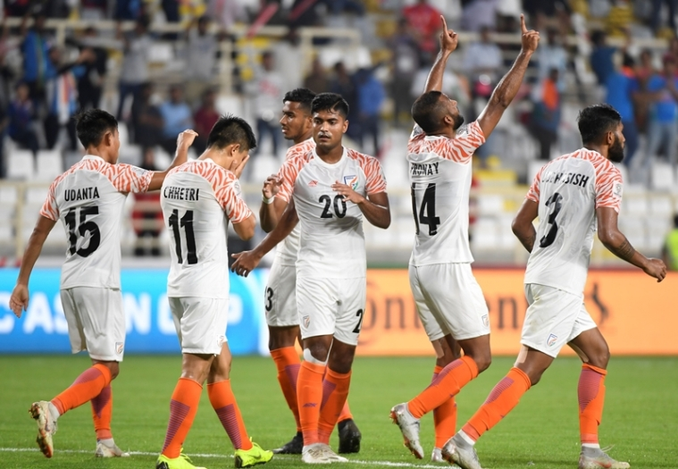 Indian football team drops out of top 100 in latest FIFA