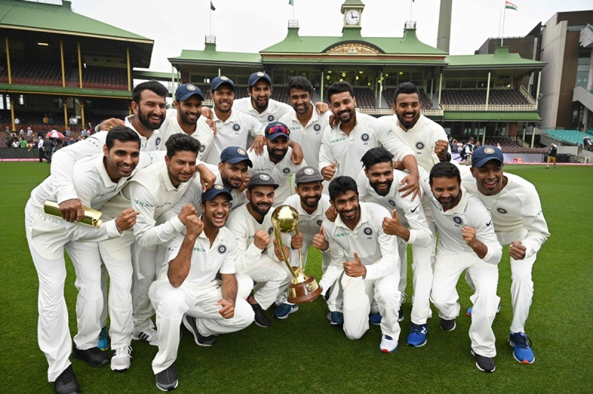 Bollywood cheers for Team India for winning Test series on Australian soil