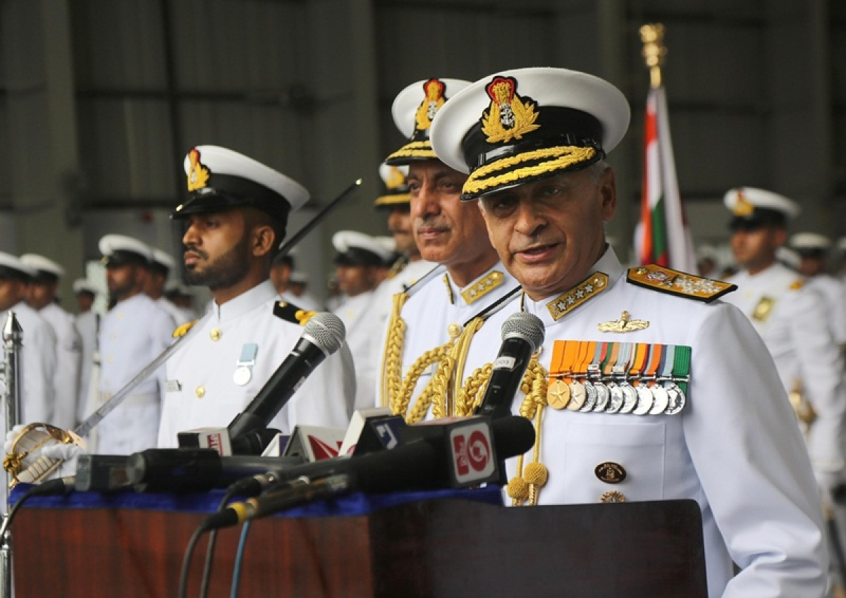Indian Navy Chief raises concerns over China's increasing warships