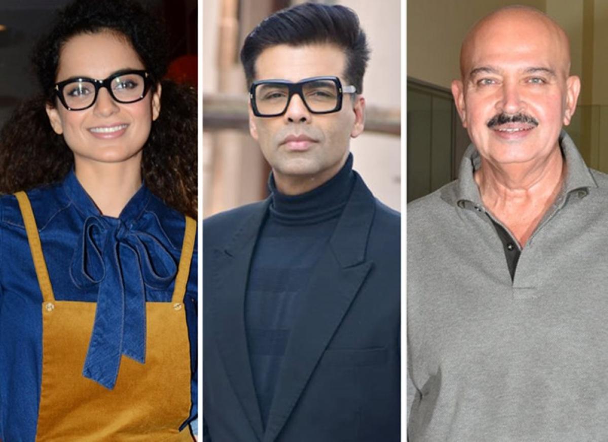 Kangana Ranaut claims she is singled out by Bollywood because of Karan Johar
