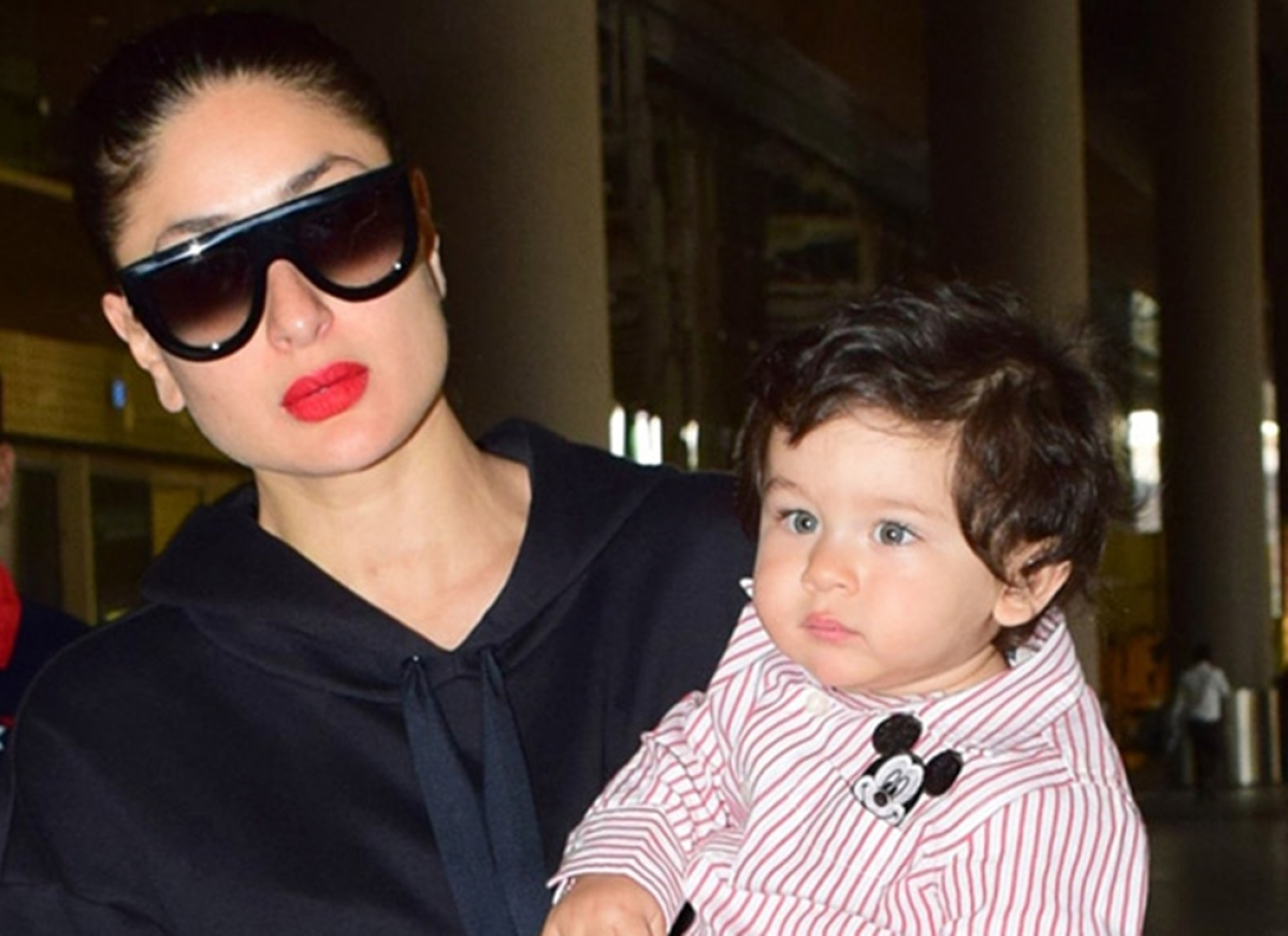 Kareena Kapoor gives a virtual 'finger' to trolls who shamed her on keeping a nanny for Taimur