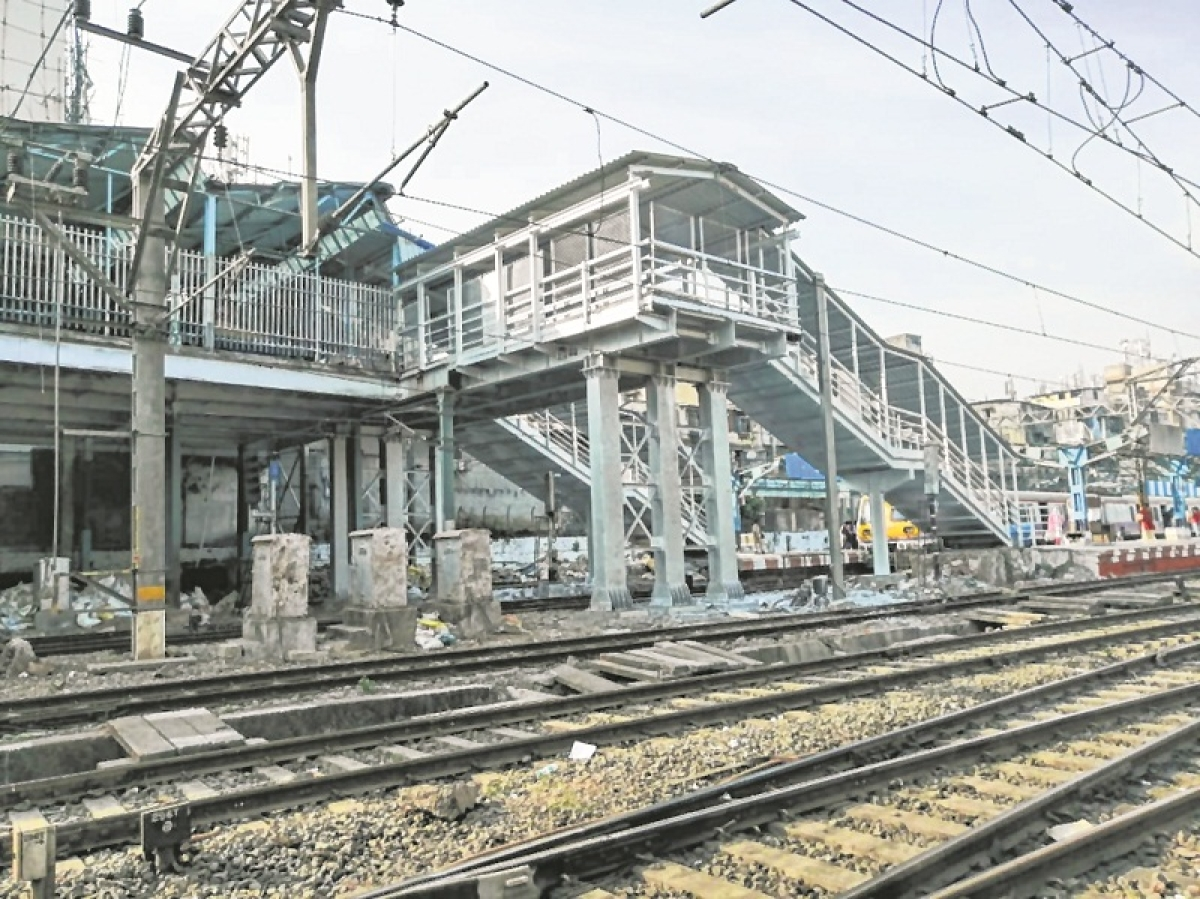 Mumbai: Central Railway builds FOB at Masjid station in record 33 days
