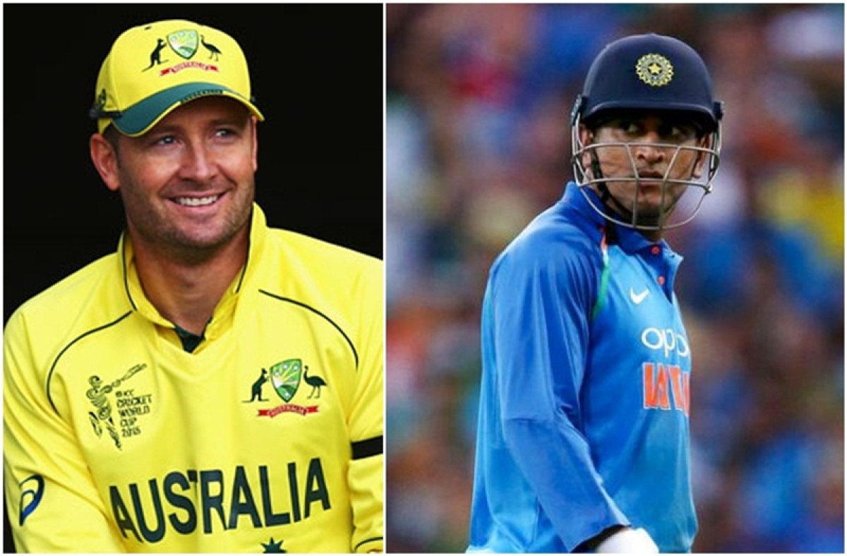 Dhoni has gone from a Lamborghini to an Aston Martin: Michael Clarke praises MS Dhoni for his series-clinching win against Australia