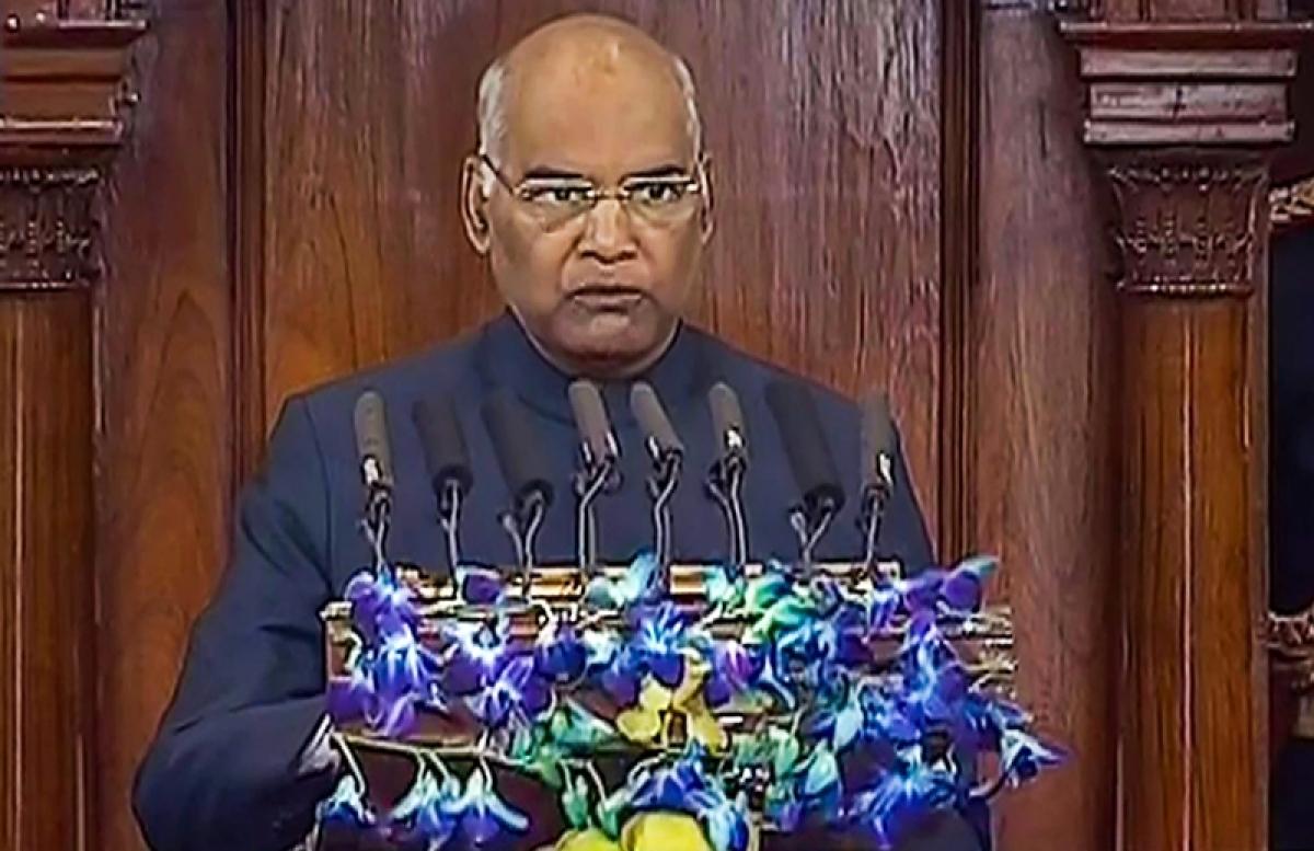 Government doing all for farmers, says President Ram Nath Kovind