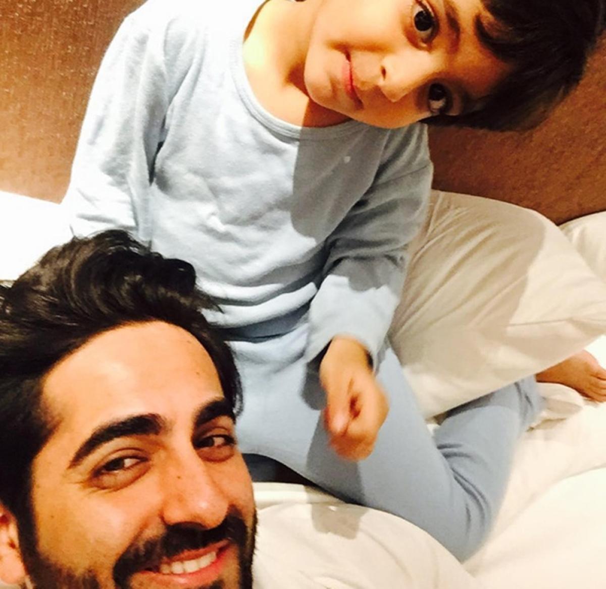 Ayushmann Khurrana's birthday wish for his son is simply awwdorable