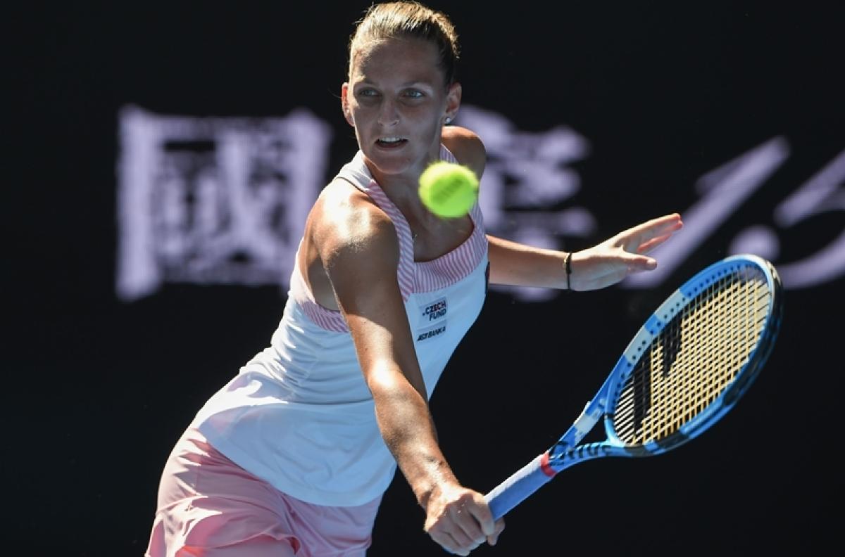 Australian Open 2019: Karolina Pliskova beats Muguruza to reach quarters