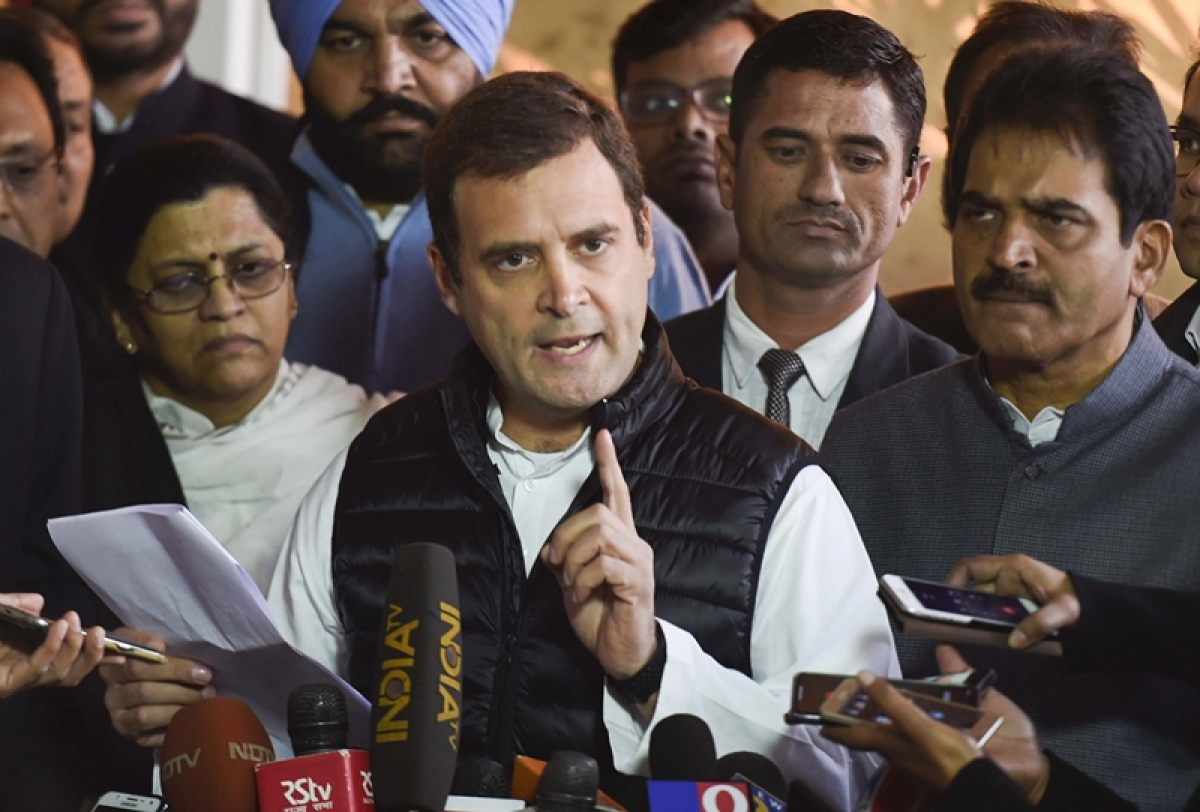 Rafale debate: Sitharaman lied in Parliament, govt signed Rs 1 lakh crore contract with HAL, says Rahul Gandhi