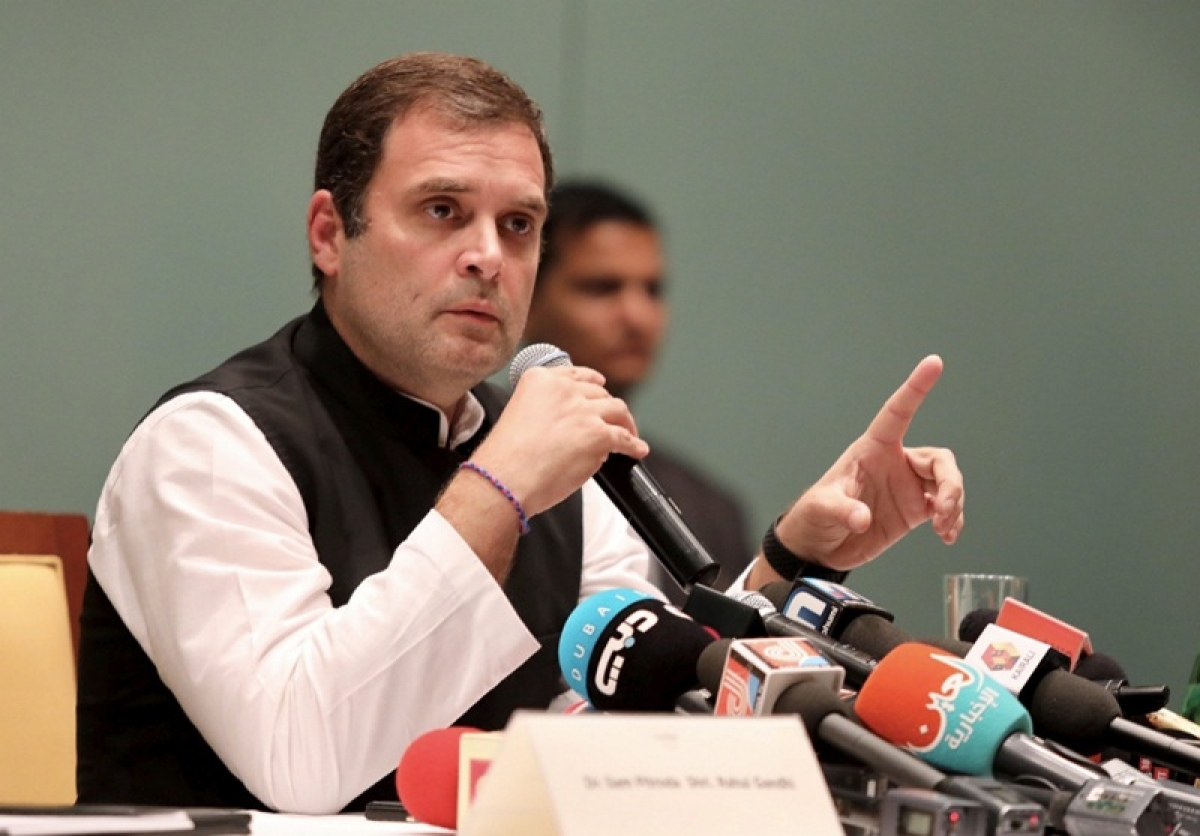 PM Modi acted as Anil Ambani's middleman in Rafale deal, committed 'treason': Rahul Gandhi