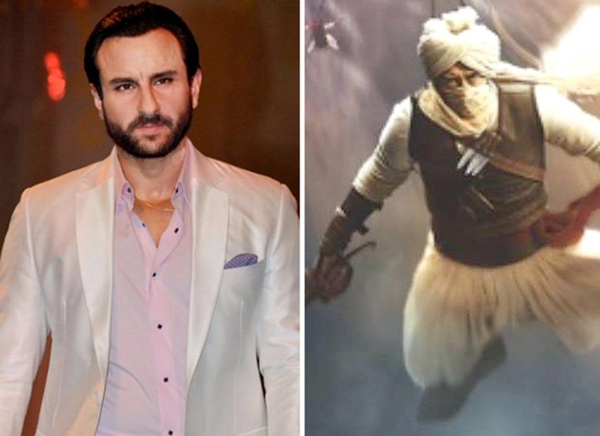 After 'Omkara', Saif Ali Khan turns villain in Ajay Devgn's 'Taanaji'