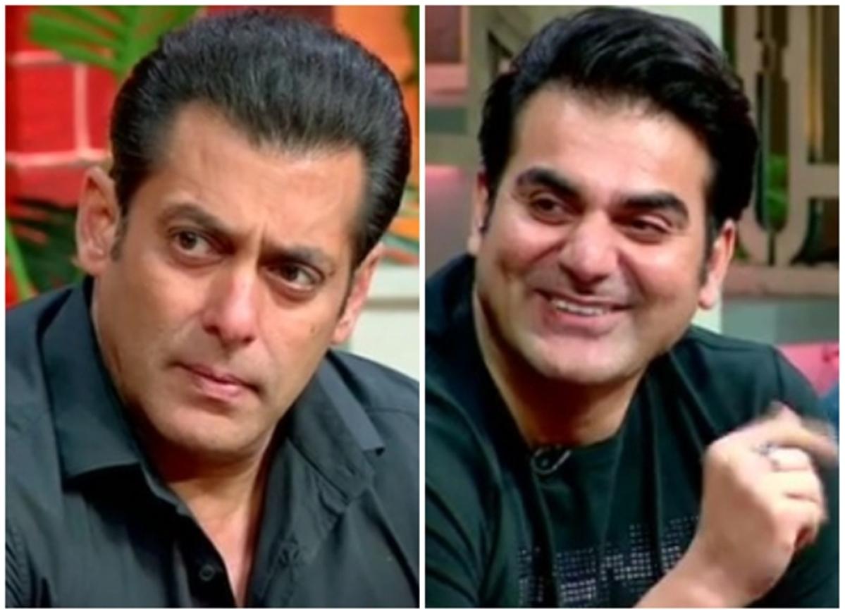 Arbaaz Khan finally reveals why Salman doesn't kiss on screen