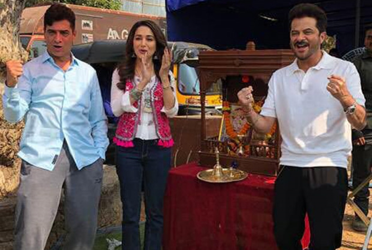 It's a Wrap for Anil Kapoor and Madhuri Dixit starrer 'Total Dhamaal'