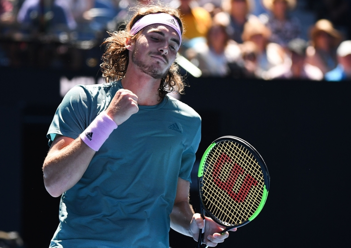 Stefanos Tsitsipas stuns Nadal to set up final with Djokovic