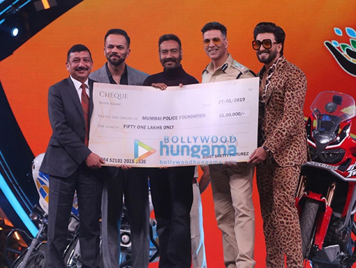 Umang 2019: Rohit Shetty donates Rs 51 lakh to Mumbai Police welfare